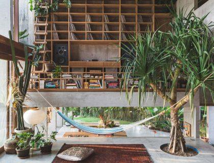 wood interior design