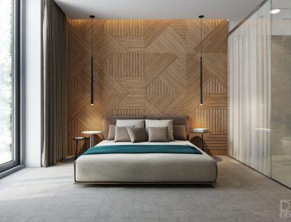 wood tiles interior