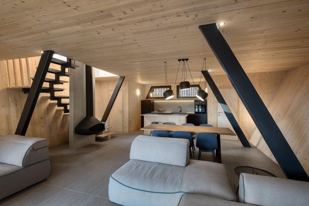 wood house serbia
