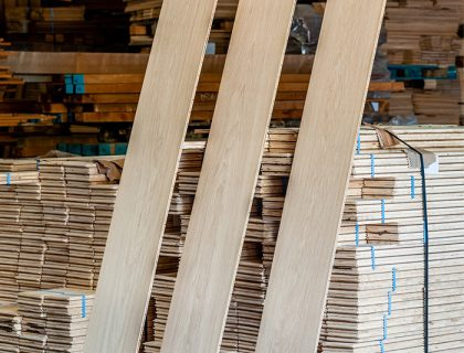 European oak supplier
