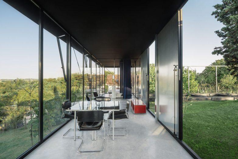 moder interior summerhouse